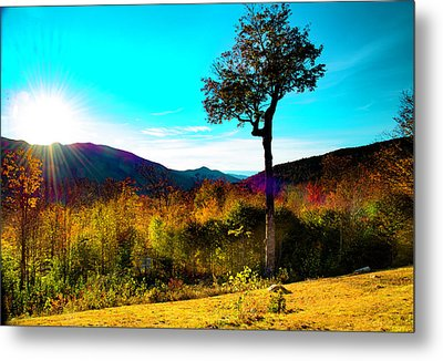 Kancamagus Sunset Metal Print