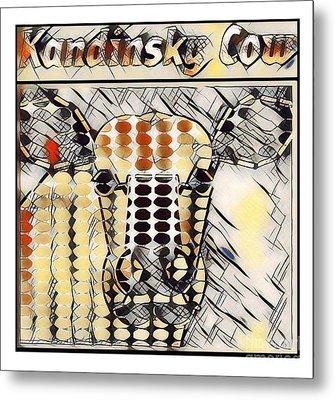 Kandinsky Cow No. I Metal Print