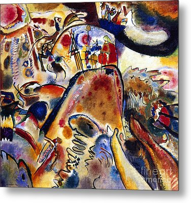 Kandinsky Small Pleasures Metal Print
