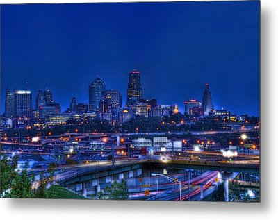 Kansas City Fantasy Metal Print