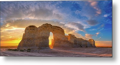 Kansas Gold Metal Print by Darren White