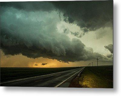 Kansas Storm Chase Bust Day 004 Metal Print