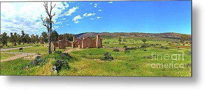 Metal Print featuring the photograph Kanyaka Homestead Ruins by Bill Robinson