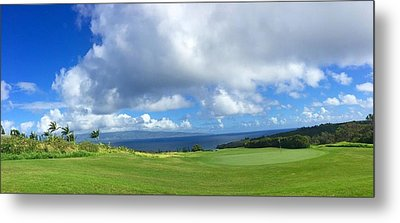 Kapalua Golf In Maui Metal Print by Stacia Blase
