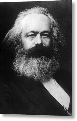 Karl Marx 1818-1883 Metal Print by Everett