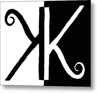 Karma Metal Print by David S Reynolds