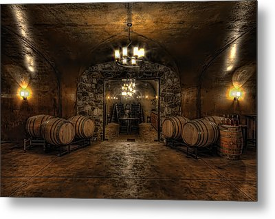 Karma Winery Cave Metal Print
