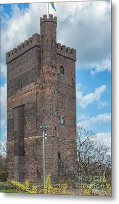 Metal Print featuring the photograph Karnan In Helsingborg by Antony McAulay