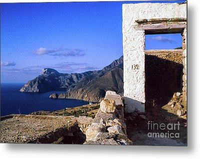 Metal Print featuring the photograph Karpathos Island Greece by Silvia Ganora