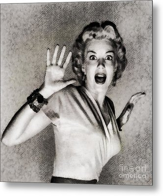 Kathleen Hughes In It Came From Outer Space Metal Print by John Springfield