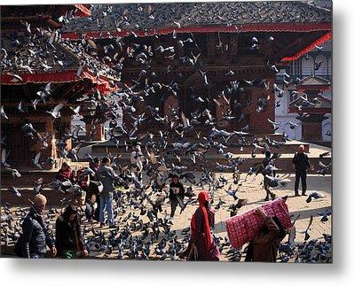 Durbar Square, Kathmandu, Nepal Metal Print