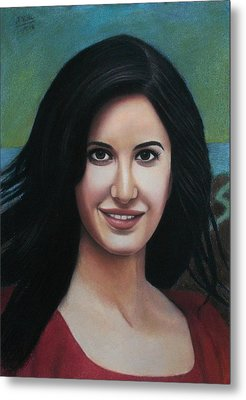 Katrina - The Beauty Of India Metal Print