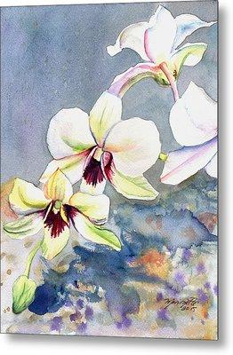 Kauai Orchid Festival Metal Print