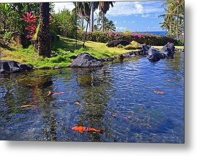 Kauai Serenity Metal Print by Marie Hicks