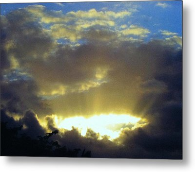 Kaua'i Sunset Metal Print