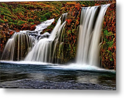 Metal Print featuring the photograph Kay Falls by Scott Mahon