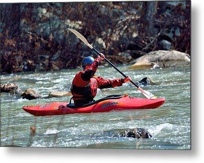 Kayak Metal Print by Todd Hostetter