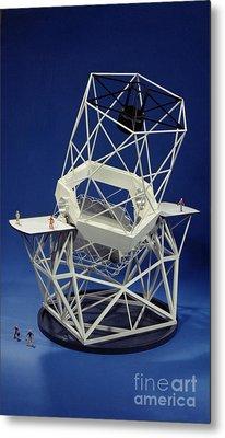 Keck Observatorys Ten Meter Telescope Metal Print by Science Source