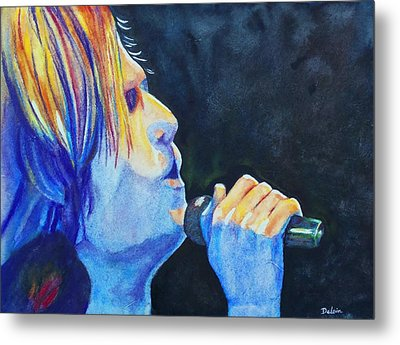 Keith Urban In Concert Metal Print by Susan DeLain