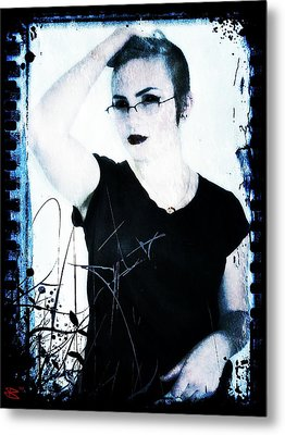 Kelsey 2 Metal Print by Mark Baranowski