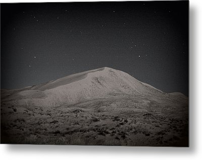 Kelso Dunes At Night Metal Print