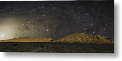 Metal Print featuring the photograph Kelso Dunes One by Kevin Blackburn