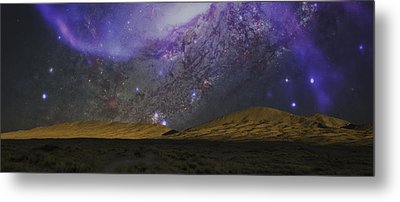 Metal Print featuring the photograph Kelso Dunes Two by Kevin Blackburn