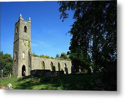 Kenmare Church Ruins Metal Print by John Quinn