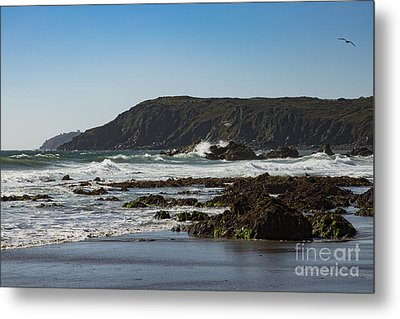 Metal Print featuring the photograph Kennack Sands by Brian Roscorla