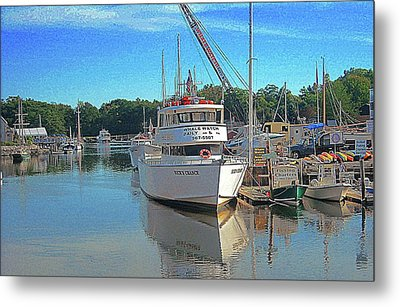 Kennebunk, Maine - 2 Metal Print by Jerry Battle