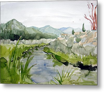 Kennedy Meadows River Metal Print