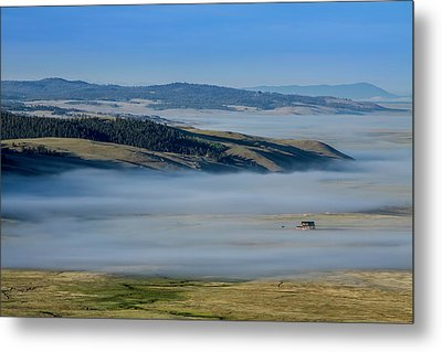 Kenosha Pass Clouds Metal Print