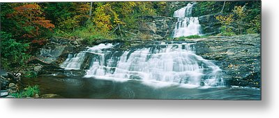 Kent Falls State Park, Connecticut Metal Print by Panoramic Images