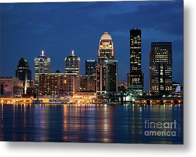 Kentucky Blue Metal Print by Andrea Silies