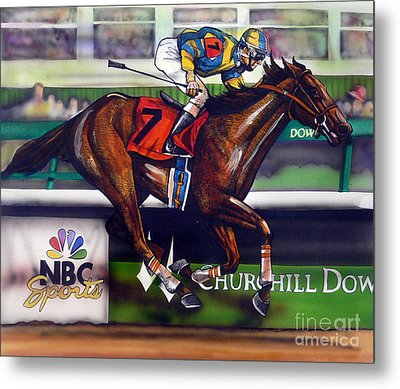 Kentucky Derby Winner Street Sense Metal Print