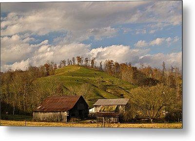 Kentucky Mountain Farmland Metal Print