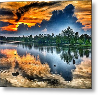 Kentucky Sunset June 2016 Metal Print