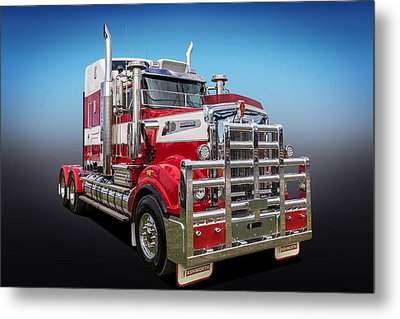 Kenworth Metal Print