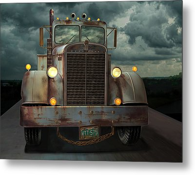 Kenworth Old Workhorse Metal Print by Stuart Swartz