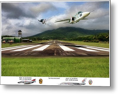 Kep Field Air Show Metal Print by Peter Chilelli