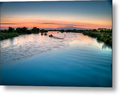 Kern River Sunrise Metal Print