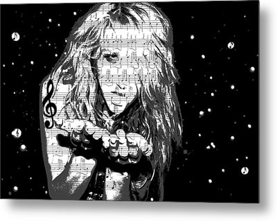 Kesha Metal Print by Brad Scott