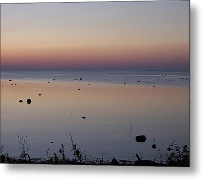 Kettle Point Sunset Metal Print