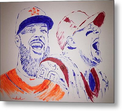 Keuchel And Watt Metal Print