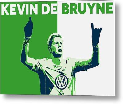 Kevin De Bruyne Metal Print by Semih Yurdabak