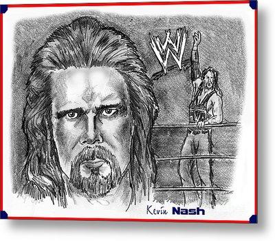Kevin Nash Outsider Metal Print by Chris  DelVecchio