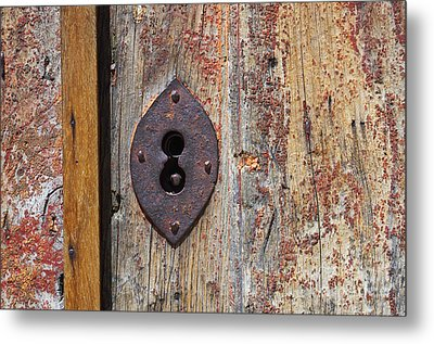Key Hole Metal Print by Carlos Caetano