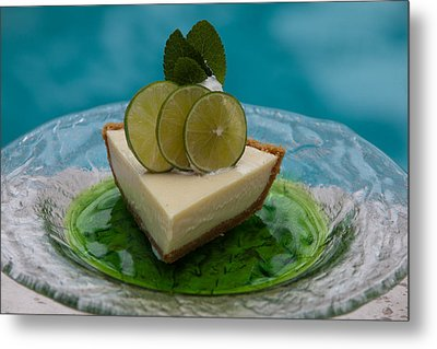 Key Lime Pie 25 Metal Print
