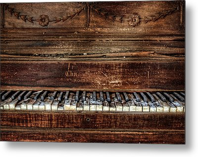 Metal Print featuring the photograph Keyless by Ken Smith