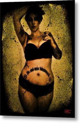 Khrist 1 Metal Print by Mark Baranowski
